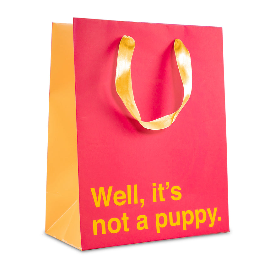 Well, It's Not a Puppy Gift Bag