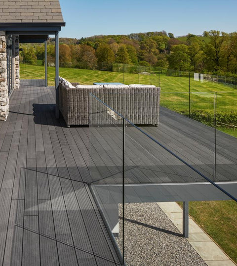 Composite Decking Residential Outdoor Installation