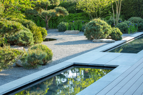 Trekker Deck Boards Outdoor Installation At Marianne Mejerus Garden
