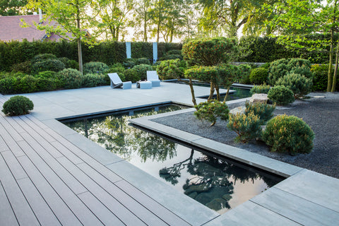Trekker Decking Outdoor Installation At Marianne Mejerus Garden