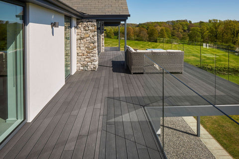 Trekker Composite Decking Residential Outdoor Installation