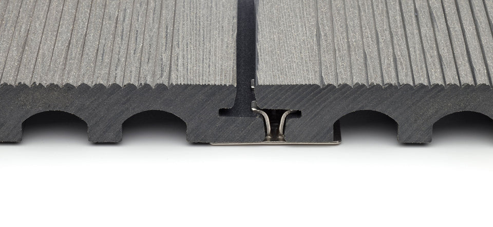 Metal Composite Decking Clips For Mixed Width Boards
