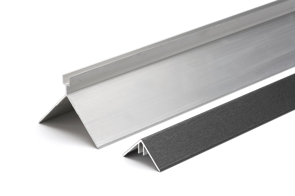 Aluminium External Trims for Composite Decking