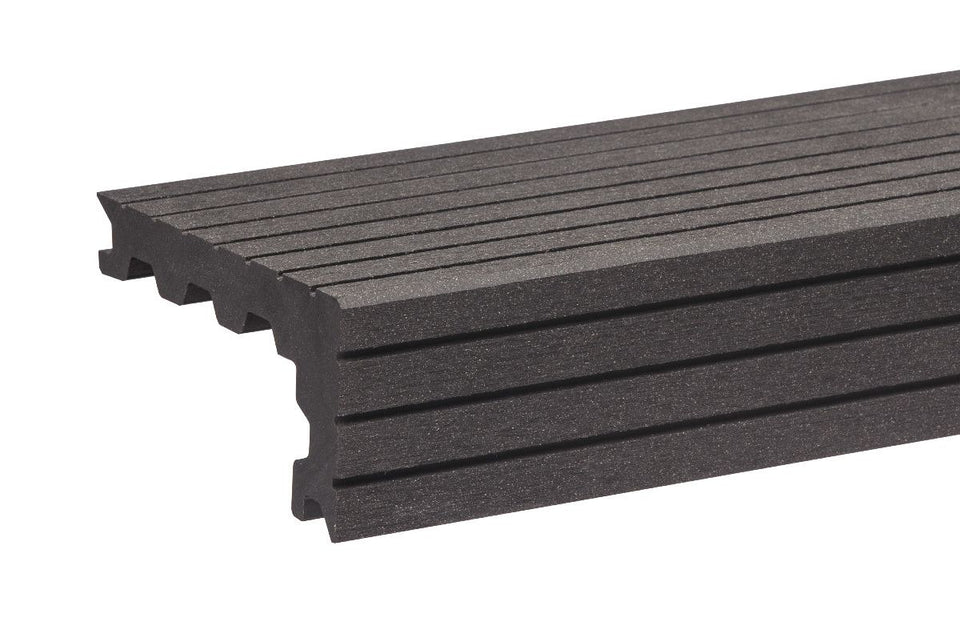 Anthracite Step Nosing For Composite Decking