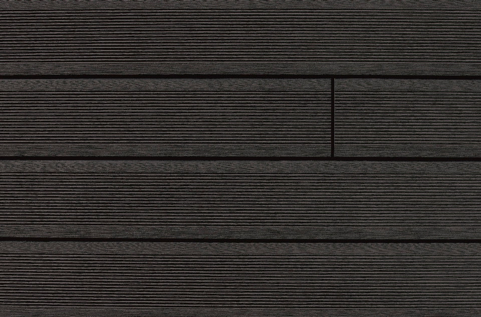 Narrow Width Grooved Composite Decking Boards