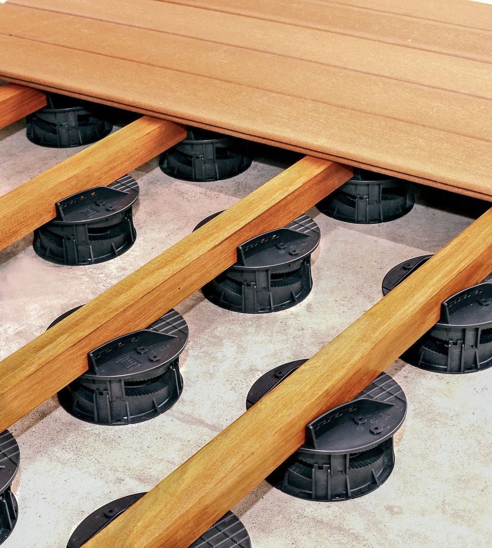 Timber Bearer Connectors for Decking Products