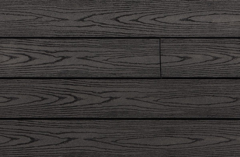 Trekker Anthracite Wood Grain Composite Decking