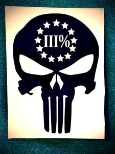 We are the III% Decal