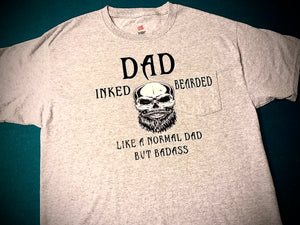 Inked & Bearded Dad