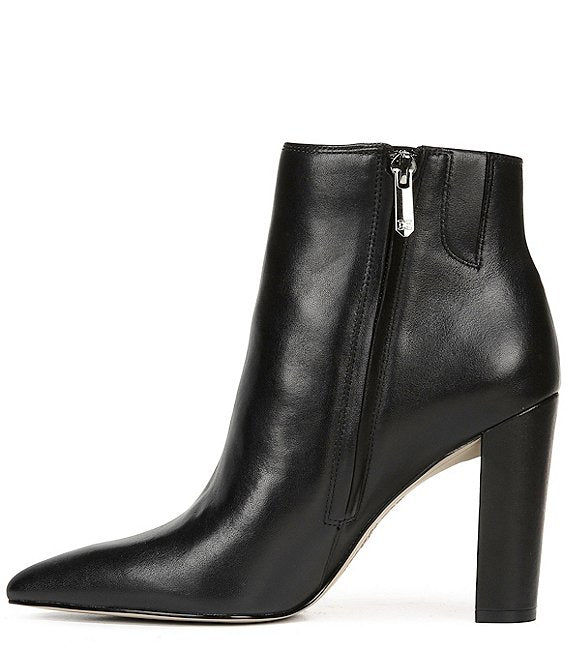 Raelle pointed Toe Bootie - Black