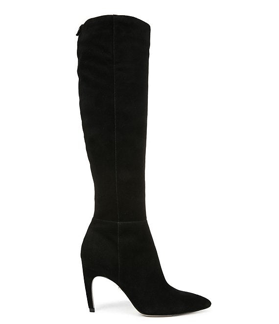 Fraya Suede Tall Boot - Black SALE!