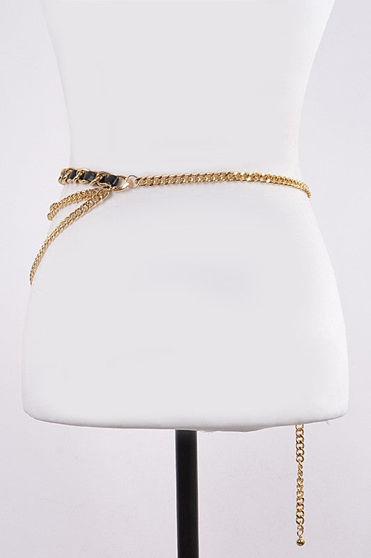 Lined Chain Belt