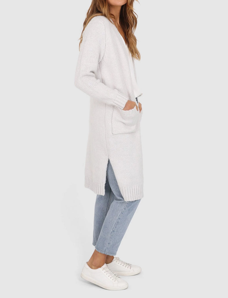 Karli Cardigan - Cement 50% OFF