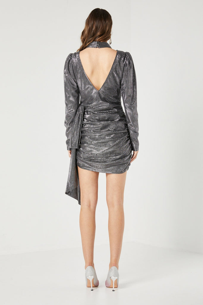 Aria Dress - Gun Metal