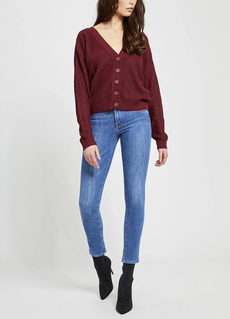 Quince Sweater - Wine 50% OFF