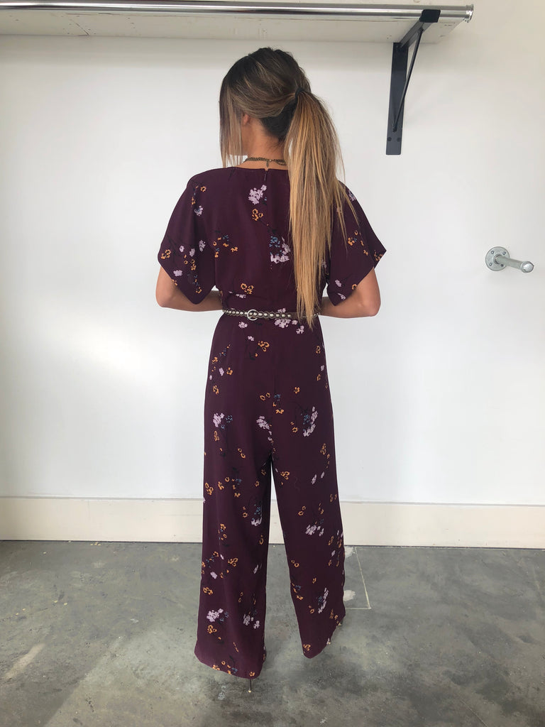Searra Floral Jumpsuit