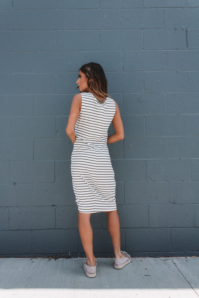 Rebecca Stripe Dress