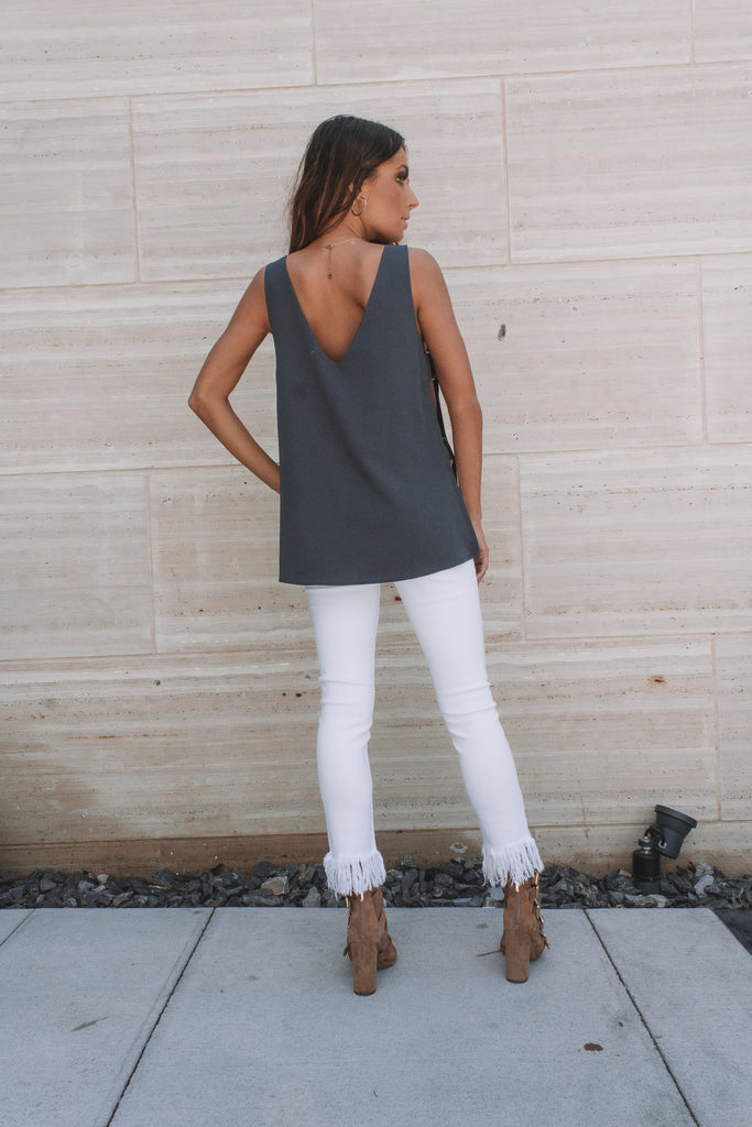 Charcoal Ring Top