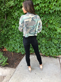 Camo Washed Jacket