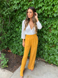 Gold Bright Side Pant