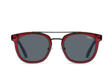 Coolin Sunglasses - Red/Smoke