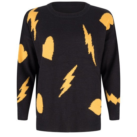 Bolt & Heart Sweater 50% OFF