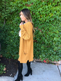 Polaris Cardigan - Mustard