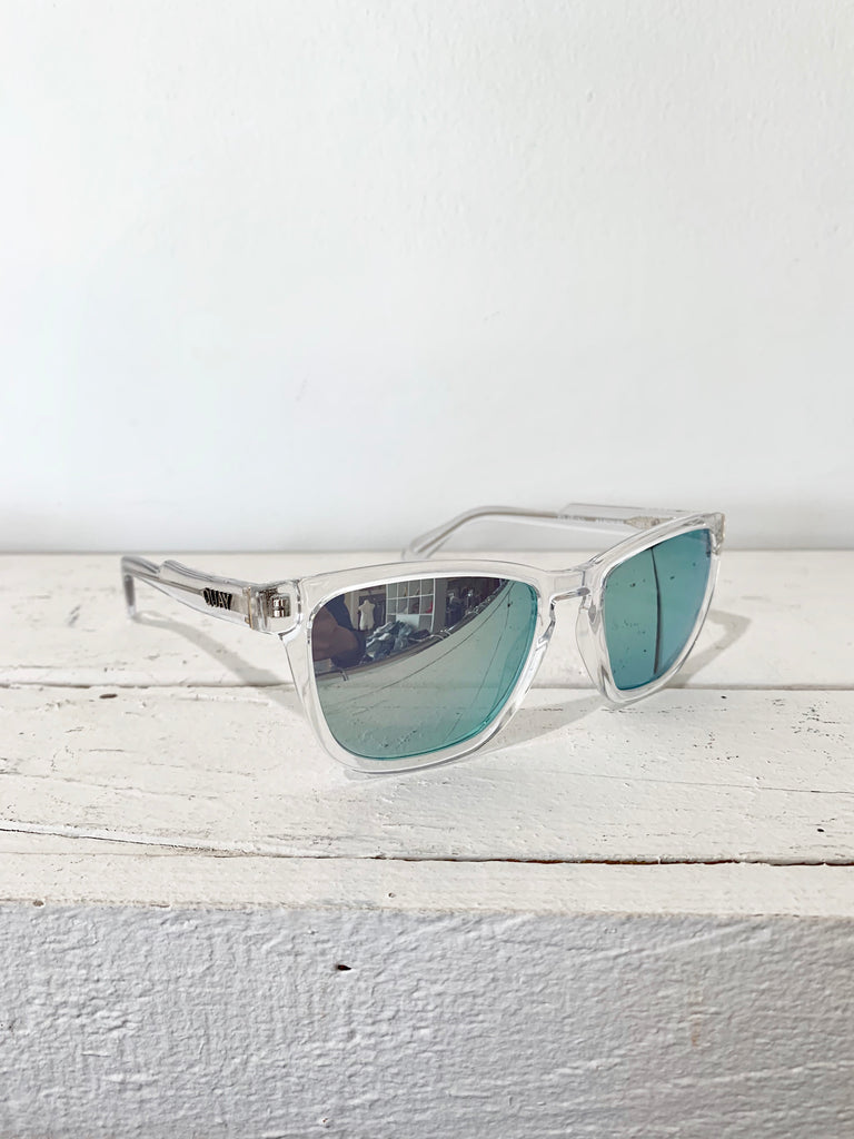 Hardwire Clear Lime Sunglasses
