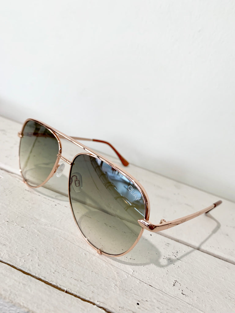High Key Mini Rose Gold Sunglasses