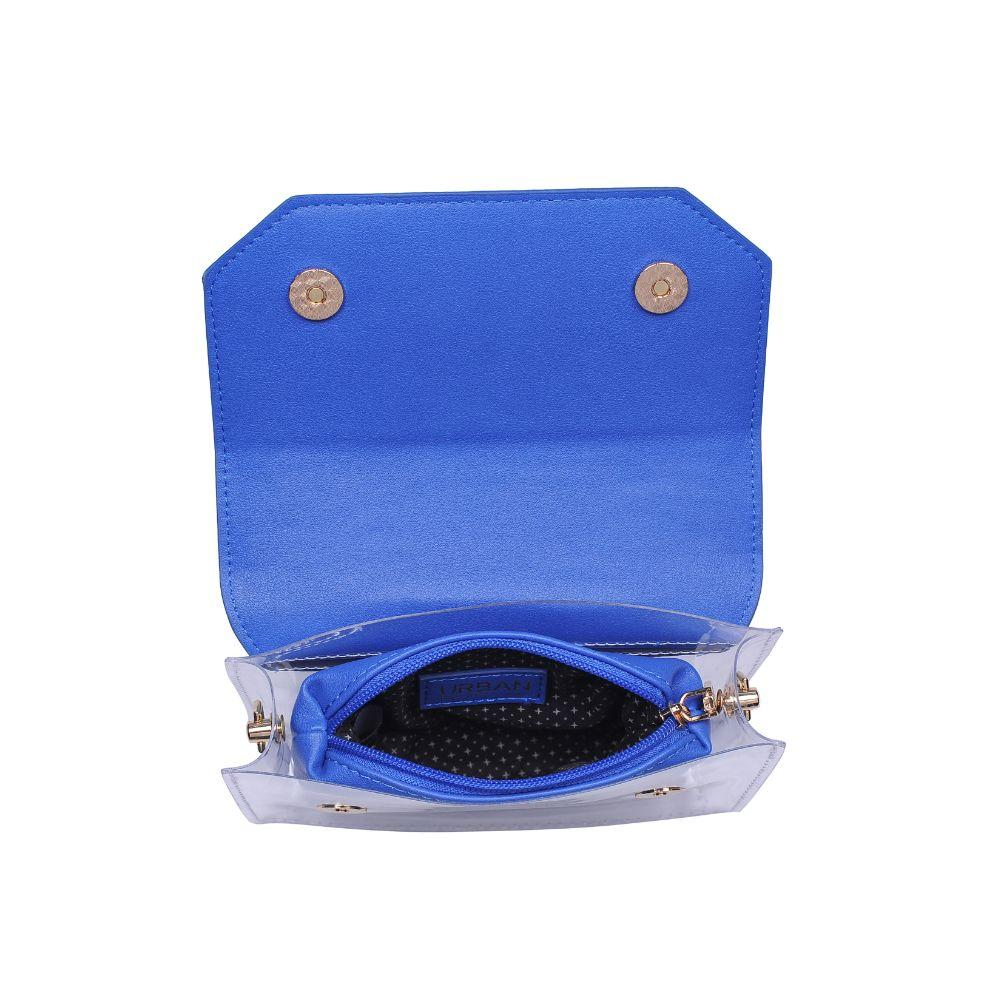Tailgate Clear Crossbody - Royal Blue