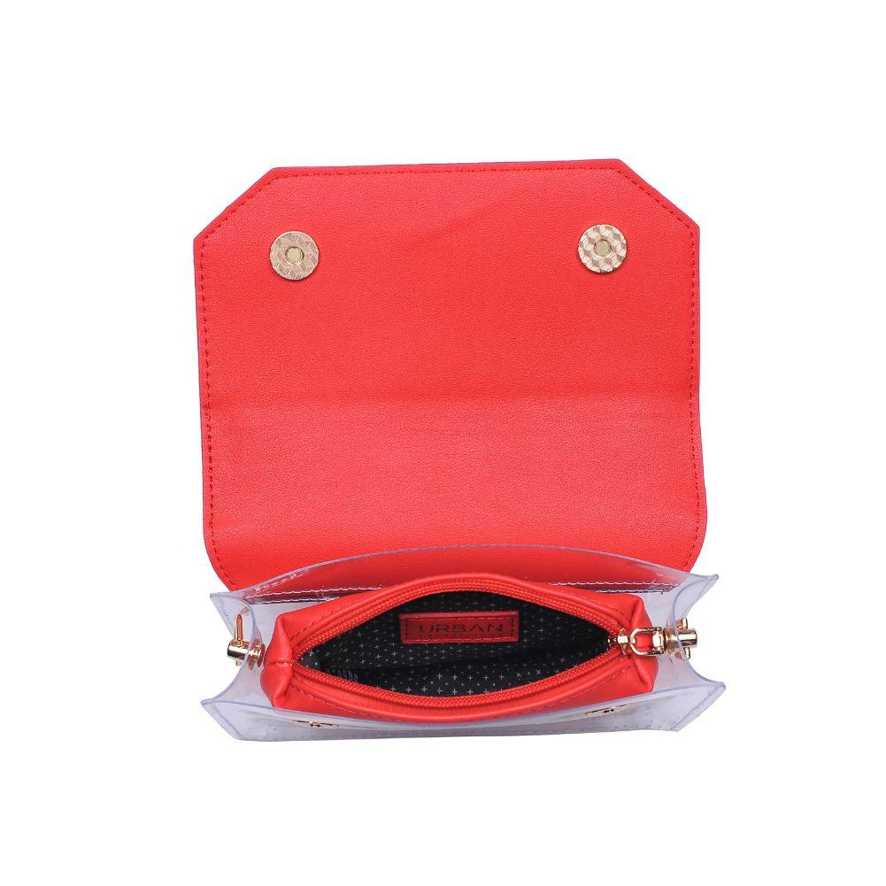Tailgate Clear Crossbody - Red