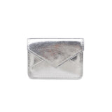 Fifi Metallic Card Holder - Silver