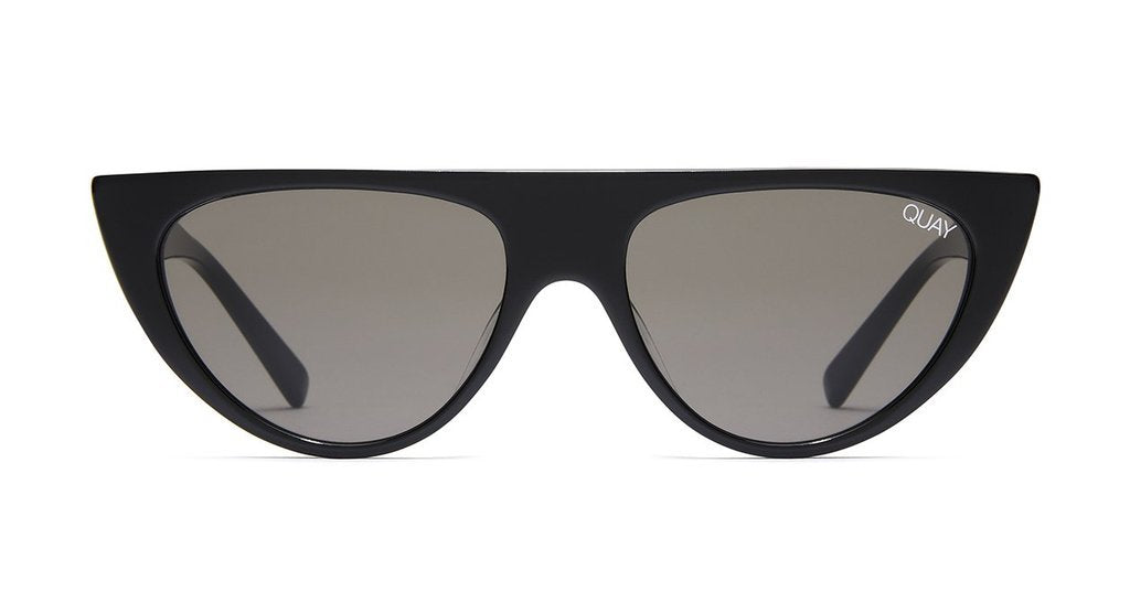 Run Away Sunglasses - Black/Smoke