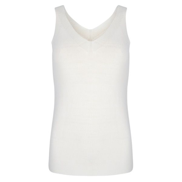 Knit Tank - Off White