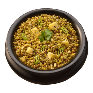 Aahana's Jaipur Millet & Lentil Bowl (Khichdi) - Gluten-Free, 16g Plant-Based Protein, Vegan, Non-GMO, Ready-to-Eat Meal (2.3oz., Pack of 4)