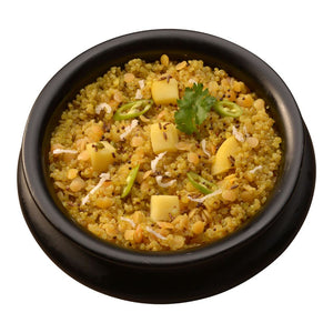 Quinoa and Sprouted Lentil Bowl (Khichdi) - Gluten Free and 15g Plant Based Protein in each bowl!