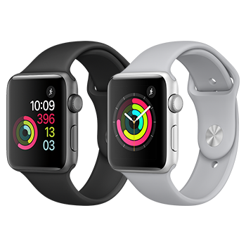 Screen Replacement Program for Aluminum Models of Apple Watch Series 2 and Series 3