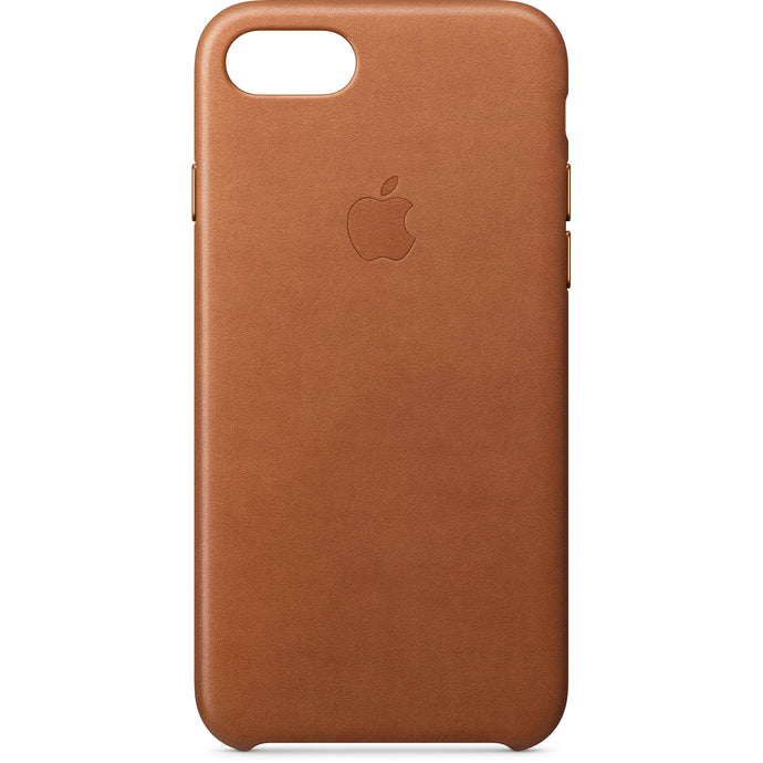 Apple iPhone 8/7/SE(2020) Leather Case - Saddle Brown