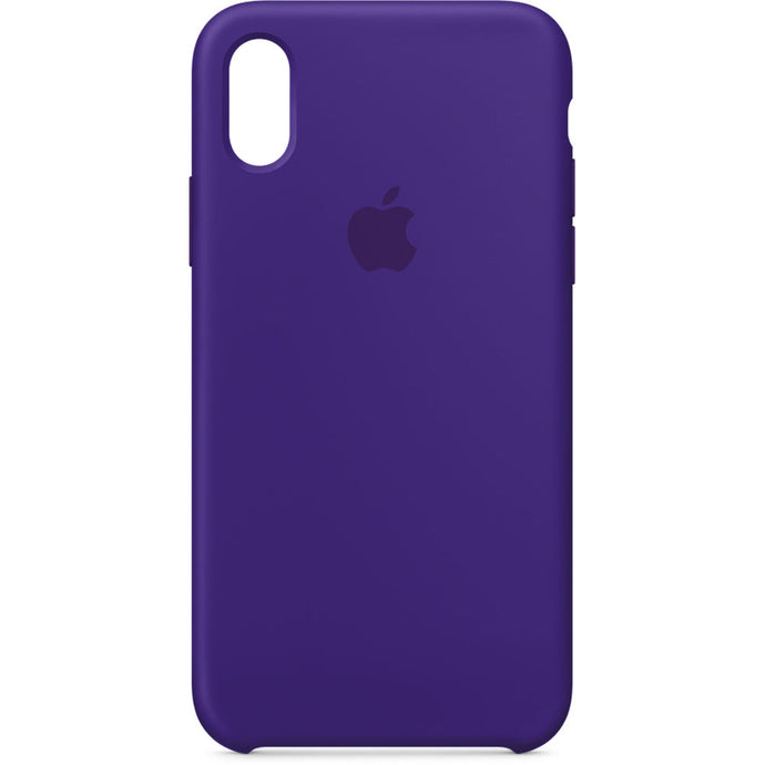 Apple iPhone X Silicone Case - Ultra Violet