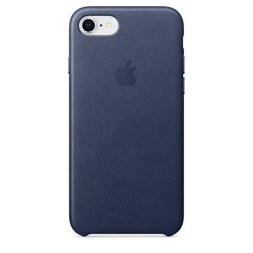 Apple iPhone 8/7/SE(2020) Leather Case - Midnight Blue