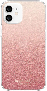 Kate Spade Protective Hardshell Case Pink Ombre Sunset for iPhone 12 mini