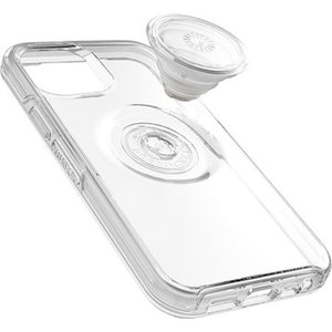 Otterbox Otter + Pop Symmetry Clear Case with PopTop Clear/Off White for iPhone 12/12 Pro