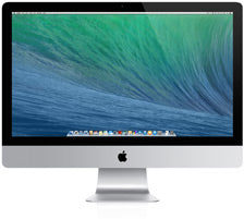Used iMac 27-inch 3.4GHz Quad-core Intel Core i5 16GB/1TB SSD (Late 2013)