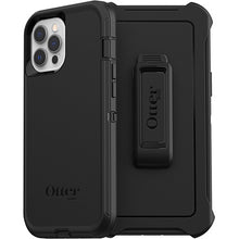 Load image into Gallery viewer, Otterbox Defender Protective Case Black for iPhone 12 Pro Max