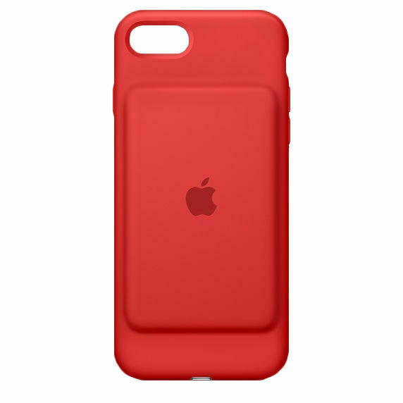 Apple iPhone 7/8/SE2020 Smart Battery Case - (PRODUCT)RED