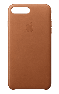 Apple iPhone 7/8 Plus Leather Case - Saddle Brown