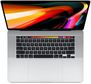 Used MacBook Pro Touch Bar 16-inch 2.3GHz 8-core i9 16GB/1TB Radeon Pro 5500M 4GB - Silver (2019)