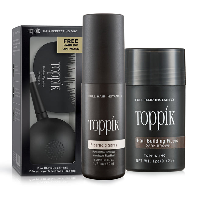 Spray Fijador + Kit duo + Fibras de 12g Toppik™