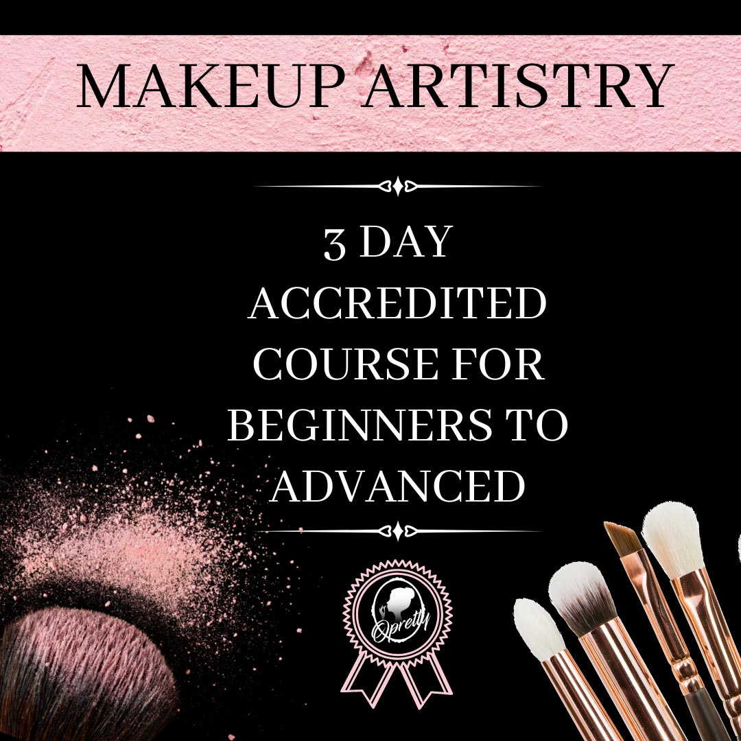 Makeup Artistry - 3 Day Accredited Course for Beginners to Advanced