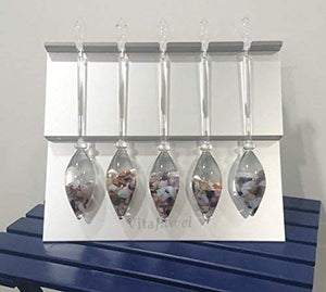 VitaJuwel Display for 5 gemstone vials
